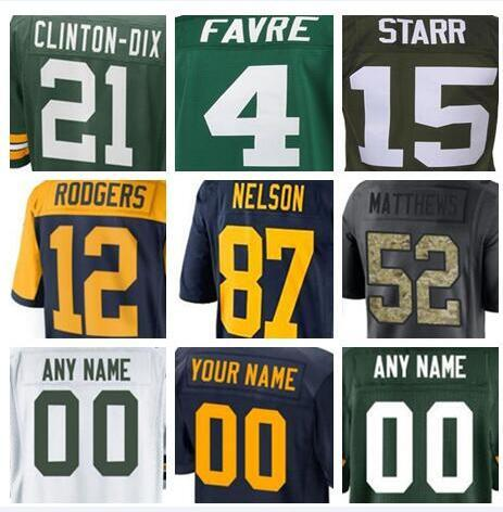 official photos 387a8 47020 2019 Green Bay American Football Jerseys Anthracite Green Olive Salute To  Service Vapor Untouchable Color Rush Limited Jersey Women 4XL 5XL 6XL 7  From ...