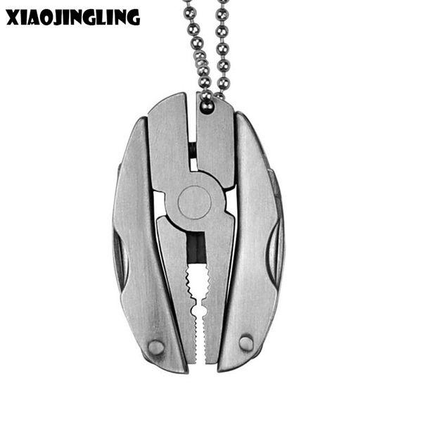 XIAOJINGLING Hohe Qualität Schlüsselanhänger Multifunktionswerkzeug Zangen Anhänger Personalisierte Schlüsselanhänger Autotasche Schlüsselanhänger Trendy Schmuck