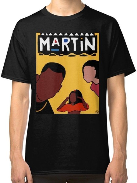 NEUE Martin 90er Jahre Hip Hop Sitcom TV Show T-SHIRT S-3XL MANN FRAU T-Shirt Sommer Stil Männer