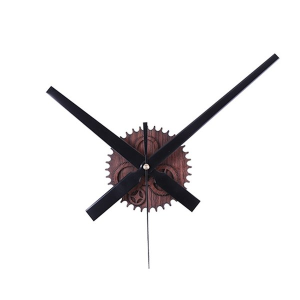 Retro Originality Wall Hanging Clock Wood Gear Mute Vintage Smart With Multi Color Diy Clocks Fashion Exquisite 18lk jj