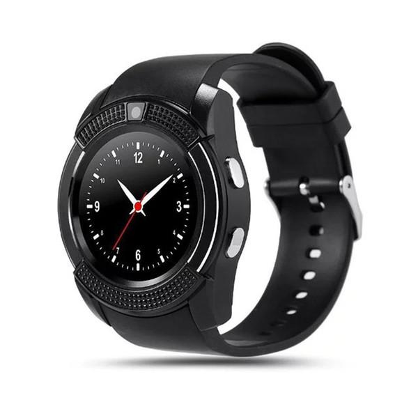 10 pcs/lot V8 Smart Watch With Camera WristWatch For IOS Android Phone PK U8 A1 DZ09 M26 GT08 GV18 T8 X6 Q18