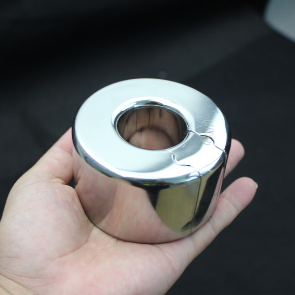Anello del pendente del pene dell'acciaio inossidabile che preme l'anello del rubinetto del blocco dello scroto del pendente della barella della sfera Giocattoli del sesso per gli uomini B2-2-205