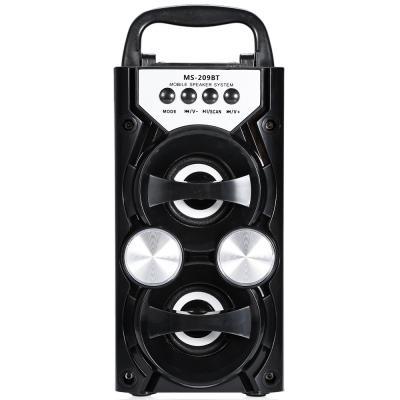Redmaine Portable High Power Ausgang FM Radio Wireless Bluetooth Lautsprecher Unterstützt FM TF Karte Lautstärkeregler