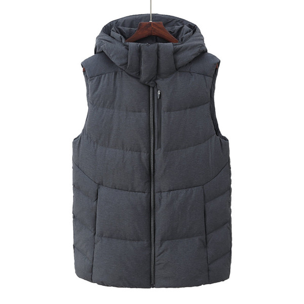 Classic style Men's new north down vest North men winter thickening cold down face vest windproof A8