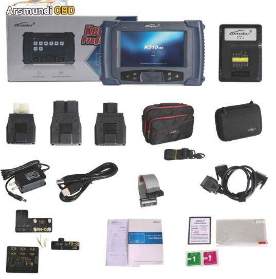 DHL Free Lonsdor K518ISE Key Programmer Plus SKE-IT Smart Key Emulator 5 in 1 Set Full Package Valid Till Sep 24th