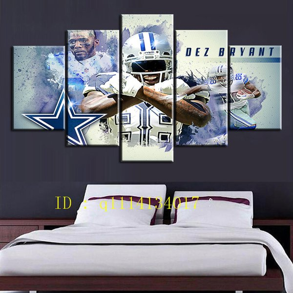 2019 Dez Bryant Canvas Prints Wall Art Oil Painting Home Decor Unframed Framed From Q1114134017 15 38 Dhgate Com