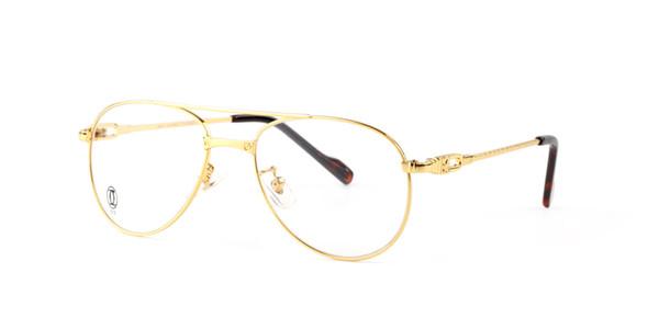 Brand Designer Women Round Full gold metal Sunglasses Frames legs Men Fashion Vintage Shade Cat Eye sun glasses eyeglasses