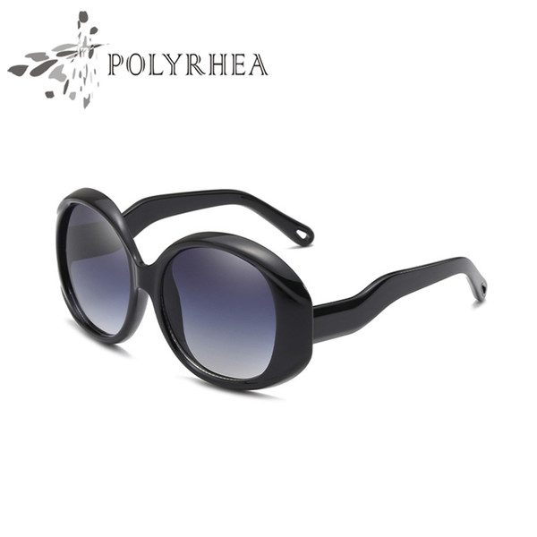Luxury Designer Sunglasses Women Vintage Fashion Round Summer Style Mixed Color Frame Top Quality UV Protection Lens Come With Case