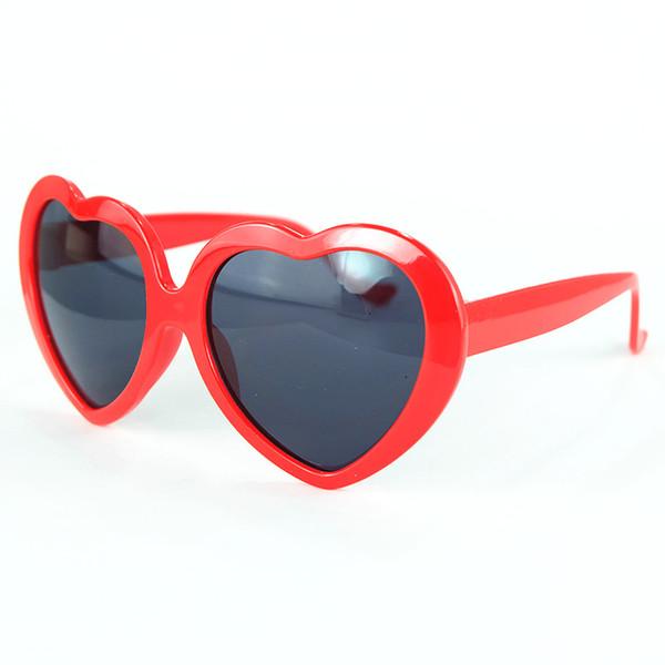 5376d619a4 DHLEMS GRATUITOS Lentes para niños Gafas de sol Amor Gafas de sol en la  playa Oculos Moda colorida Niños Gafas UV400 Gafas para niños Piedras de  imitación ...