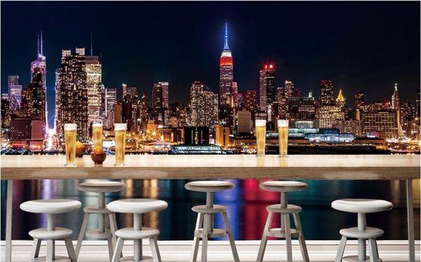 Venta al por mayor fondo de pantalla personalizado Nueva York vista ...