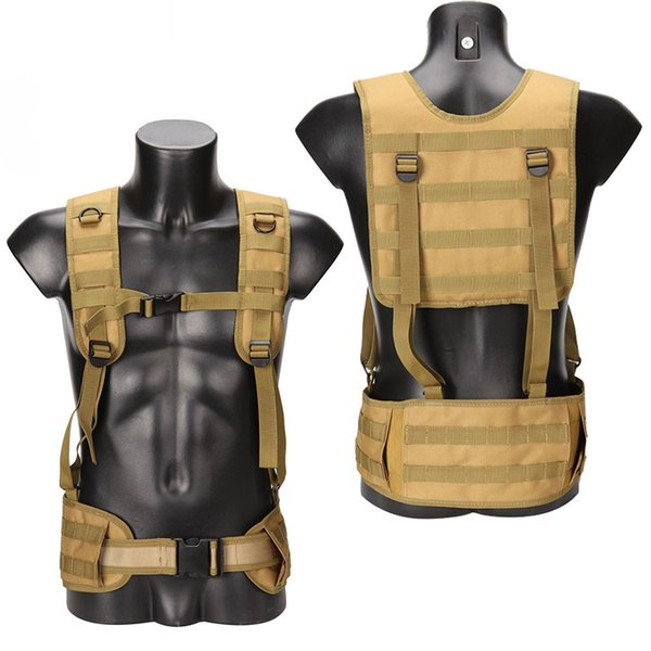 Outdoor Sports Outdoor Camouflage Body Armor Combat Assault Waistcoat Tactical Molle Vest Plate Carrier Vest NO06-024