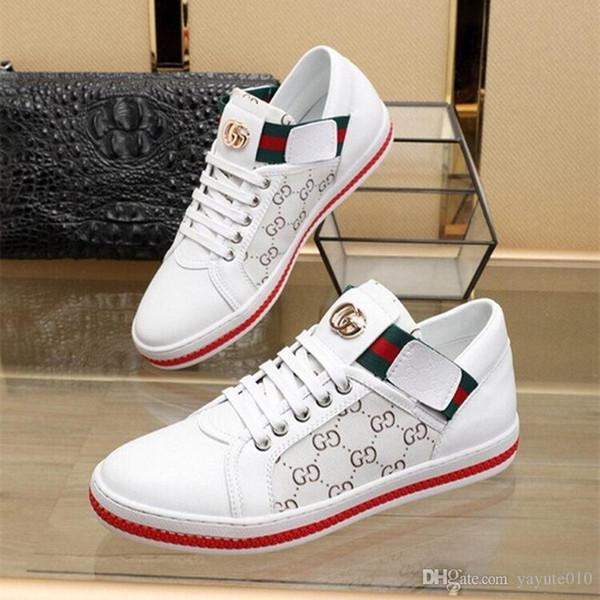 Mektuplar Ile 18ss Yeni Marka Ayakkabı Baskılı Lüks Tasarımcı Ayakkabı Erkekler Kapalı Toe Kadınlar Için Yüksek Kaliteli Rahat Ayakkabılar Elastik bant