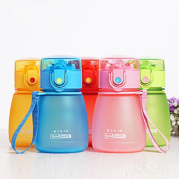 308ml Hot Baby Bottles Eco -Friendly Pc Kid Bickiepegs Baby Cartoon Water Bottle Children Straw Bottle Kettle Sports Bottle