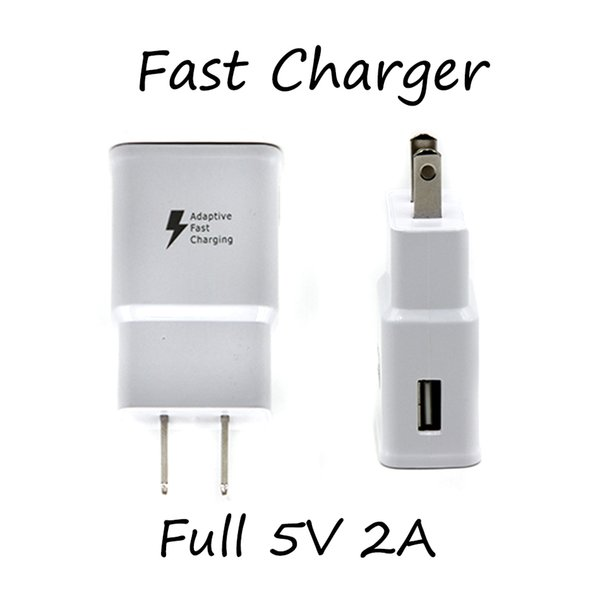 Full 5v 2a u b wall charger quick fa t charging travel home wall charge adapter u eu plug for univer al martphone