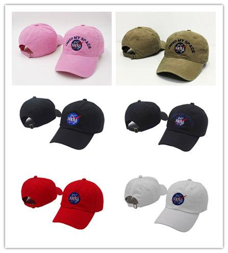 Good Quality NEED MY SPACE NASA Meat Ball 6 god Embroidered Cotton dad hat snapback Baseball cap i feel like pablo casquette