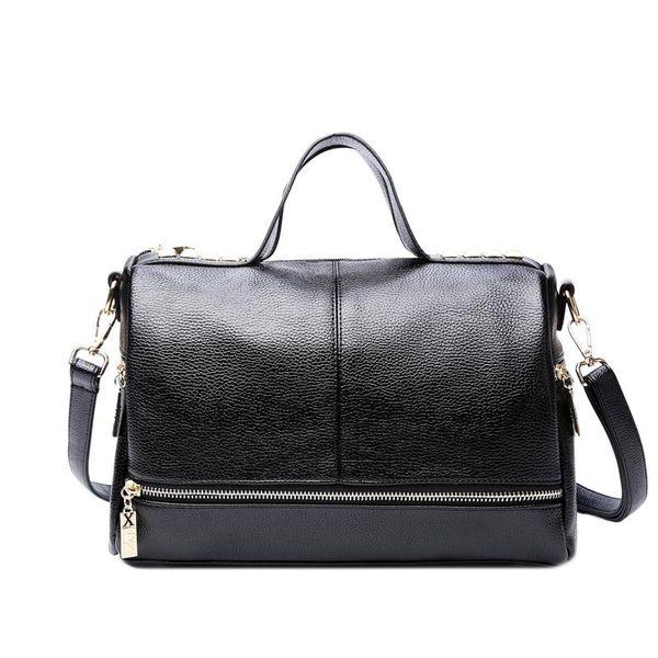 Hot New Arrival Femal Handbag Retro Motorcycle Messenger Bag Rivet Leather Laptop Tote Bag Women Shoulder Bag