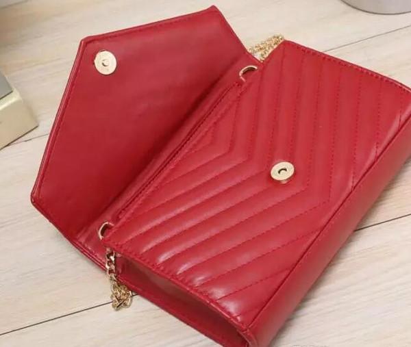 high quality women's pu leather chains flap shoulder bag fashion lady cross body bag messenger bag purse 8291 brand new
