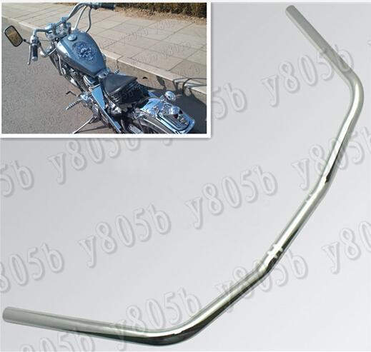 Motorcycle Chrome Drag Handlebars 1 25MM Bars For Yamaha VStar 400 650 1100  1300 Virago Xv 250 535 750 1100 Road Star Custom