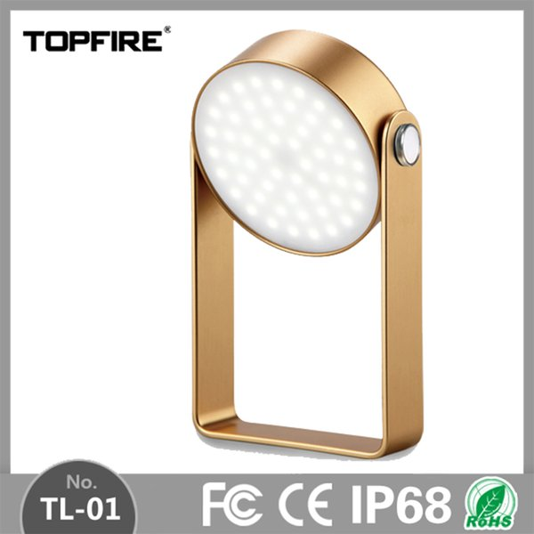 Topfire Waterproof Portable Camping Lantern 56pcs LEDs 2600mAh Emergency Night Light Dimming Rechargeable Outdoor Lamp 420Lm
