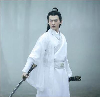 2018 verão traje hanfu dos homens roupas cosplay roupas de dança tradicional chinesa menino masculino chinês antigo robe de dança folk cos
