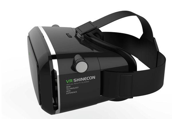 Anskp VR Versión Gafas de realidad virtual Gafas 3D Cascos Teléfono inteligente VR Box + GamePad