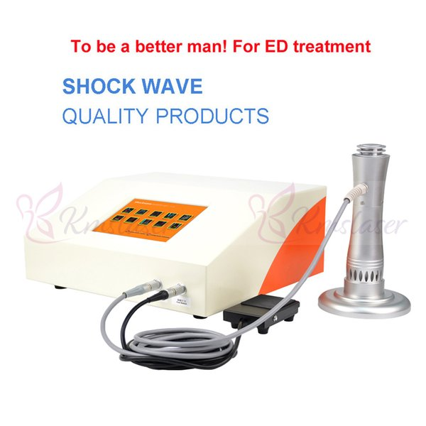 Smartwave Eswt Physical Therapy System Eswt Shockwave Equipo de terapia Alta presión 6 Bar Shockwave Herapy Máquina para hombro