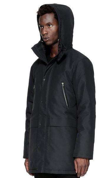 Men/women Parkas LONG WINTER Mac-age HENDRI-1 Down & Parkas WITH HOOD/Snowdome jacket Brand Real Raccoon Collar White Duck Outerwear & Coats