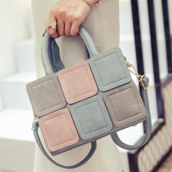 LEFTSIDE 2017 Nouveau Point Casual en cuir PU Sac à main pour femme pour petit sac à main CrossBody sac à bandoulière sacs à bandoulière