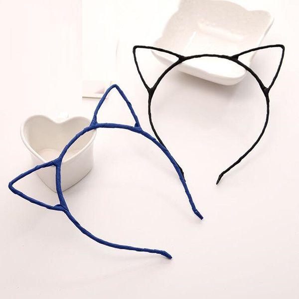 2018 New Cat Animal Ear Headband Bambini Ragazze Little Devil Headwear Accessori per capelli Halloween Party Favor