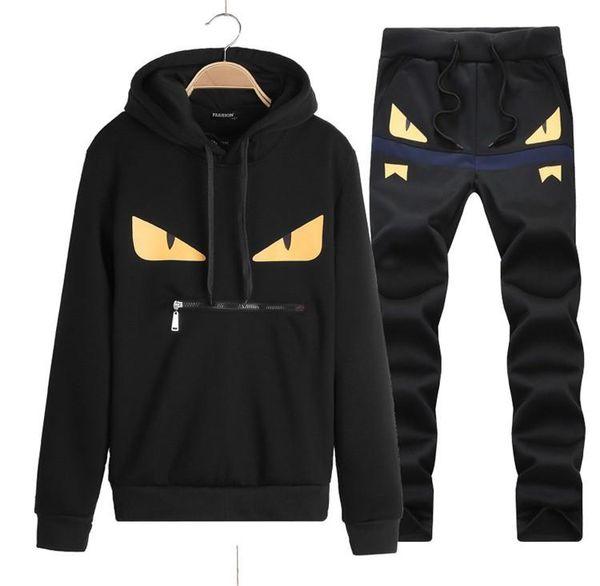 Atacado-Homens conjunto de basculador moda mens hoodies e camisolas ao ar livre mans sportswear chandal hombre casuais sudaderas hombre jogging ternos
