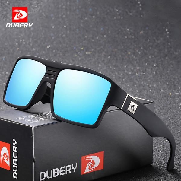 9564186ac6d48 DUBERY Polarizada Óculos De Sol Dos Homens Retro Masculino Óculos De  Proteção Coloridos Óculos De Sol