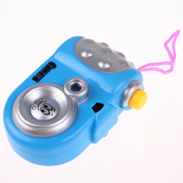 2018 Eğlenceli Projeksiyon Kamera Oyuncak Çeşitli Hayvan Desen Bebek Çocuklar için LED Işık Projeksiyon Eğitim Çalışması Oyuncak Rastgele Renk