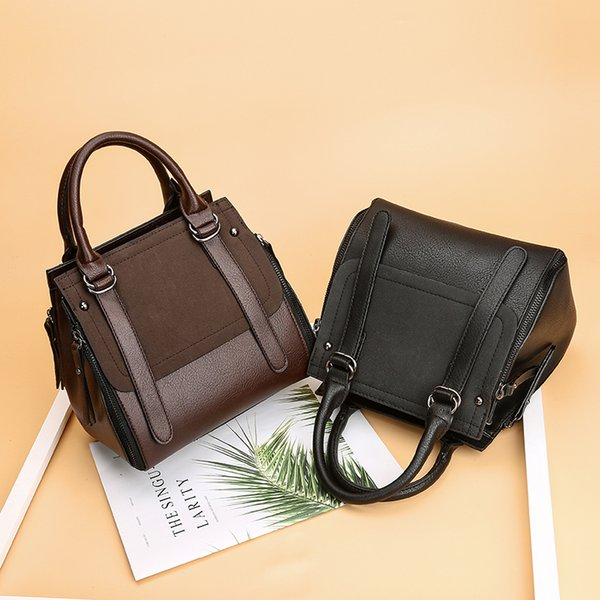 Leather Ladies HandBags Cheap Women Messenger Bags Designer Crossbody Shoulder Bag Luxury Hand Bags Hot Sale 2018 Fashion