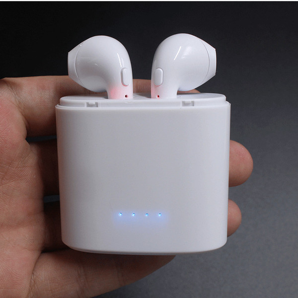 I7S TWS Headset Earbuds Ture Wireless Bluetooth Double Earphone Twins Earpieces Stereo Binaural Earphones For All mobile phones