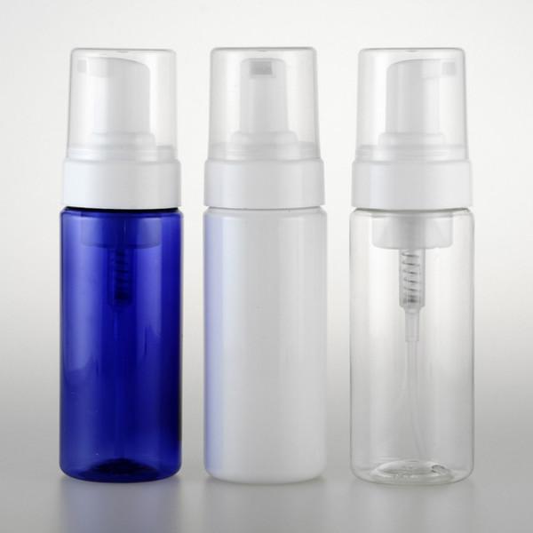 100ML Plastic Foaming Bottle Pump Soap Dispenser Refillable Portable Empty Hand Soap Suds Dispenser Travel W8091