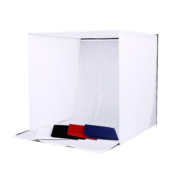 CY Profession Photo Studio soft box Shooting Tent Softbox Cube Box 60 x 60cm photo light tent+portable bag+ 4 Backdrops lightbox