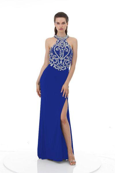 Royal Blue with Slit