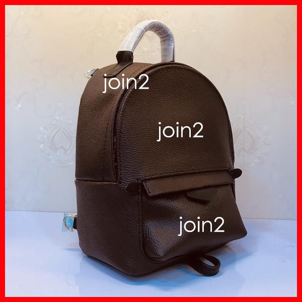 top popular PALM SPRINGS BACKPACK, Fashion Women Travel Backpack Mini School Bag, High Qualtiy Classic Canvas Leather Free Shipping 2020