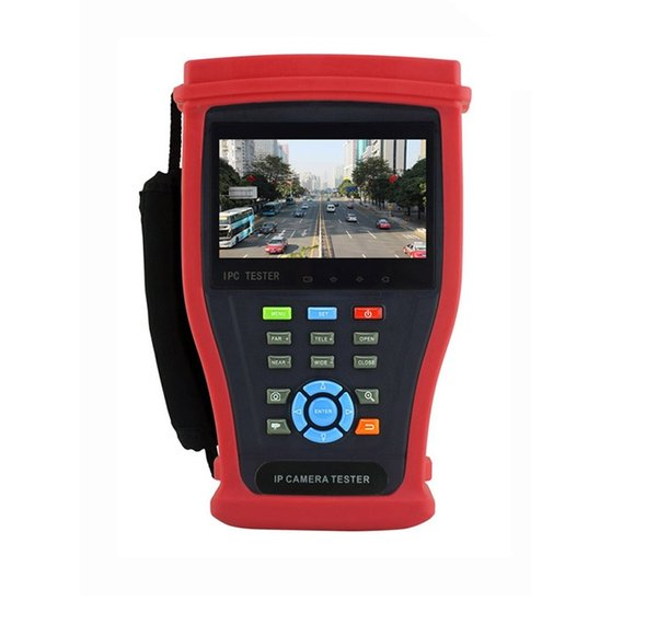 Latest 5 IN 1 8MP TVI 8MP CVI 5MP AHD H.265 4K/H.264 IP Camera Analog CCTV Tester Monitor with HDMI input Cable test