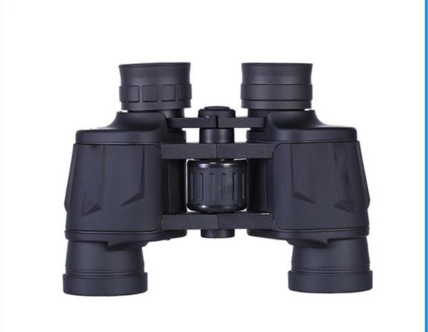 8X40 черный и низкой освещенности визуальный бинокль открытый портативный для детей взрослых астрономический телескоп