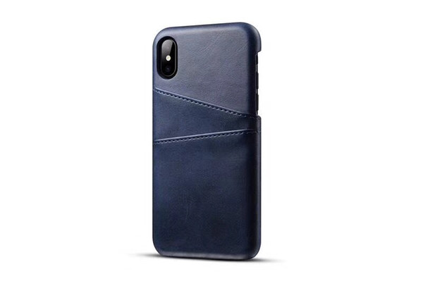 Luxury PU leather case PC cover Business Style with card pouch for iphoneX 8plus 8 6 6plus 7 7plus Fashion Wallet Holder Shell real better