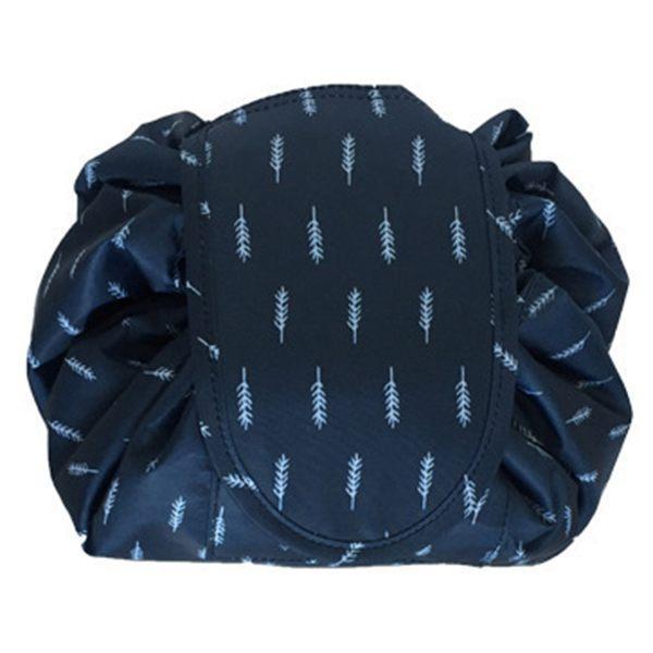 SDFC-Makeup Bag Drawstring Portable Travel Small Cosmetic Bag Magic Makeup Pouch Toiletry Bags Makeup Storage Organizer Perfec