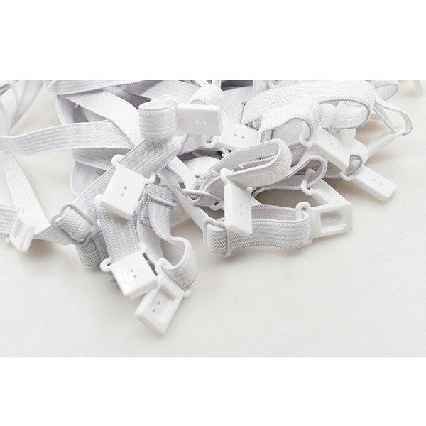 Color: banda elástica blanca
