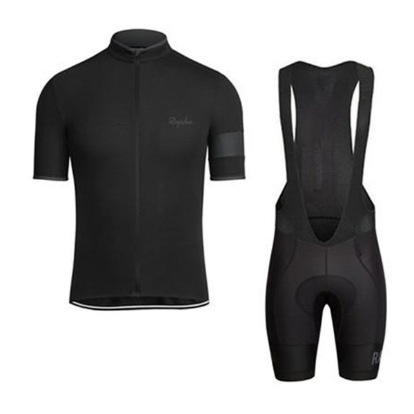 best selling RAPHA summer mens short sleeve cycling jersey bike wear Clothes bib SET MTB uniform PRO cycling clothing bicycle Maillot Culotte suit