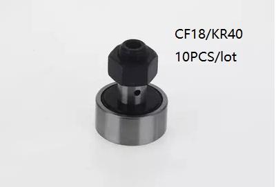 top popular 10pcs lot CF18 KR40 Cam Follower Bearings Track Roller Needle Roller Bearing 2021