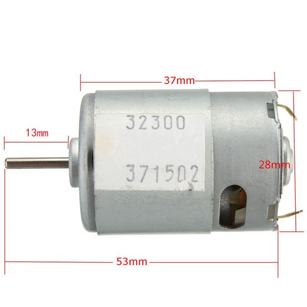 best selling New high-quality DC3-12V high torque motor super high speed motor rated voltage 9V 20W 380 motor
