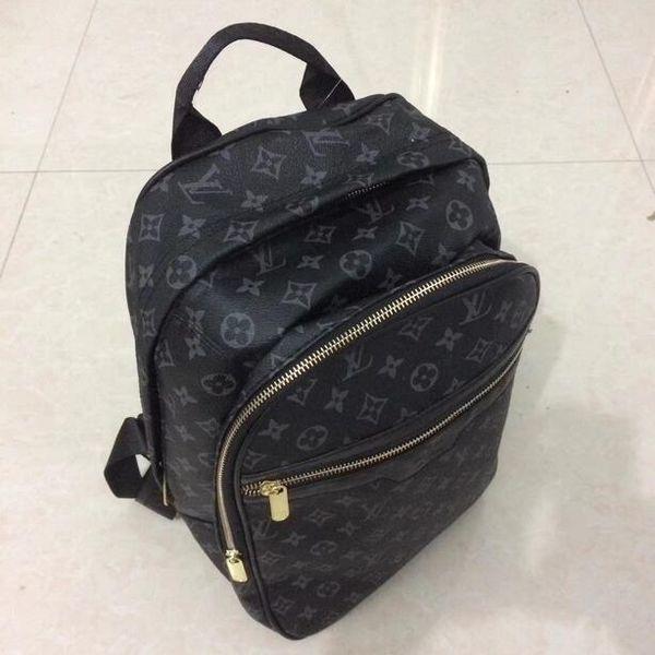 Hot Backpack Designer 2019 Fashion Male Lady Black Backpack Charm Free Shipping Shoulder Bag Inclined Bag