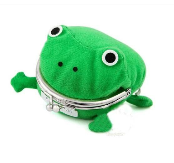 Cartoon Coin Purse Naruto Storage Bag Anime Peripherals Frog Package Originality Personality Cute Wallets Action Figures Children Kids
