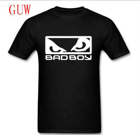 Wholesale Price Mma Bad Boy Badboy Creative Printed Men's White T-shirt T Shirt For Men 2018 New Short Sleeve Casual Top Tee