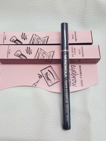 Hot Monomola 7Days Eyebrow Tattoo Pen Liner Long Lasting Eye Makeup Cosmetic High quality